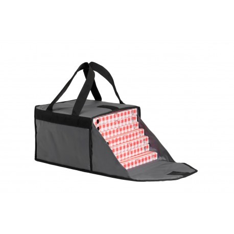 Semi rigid delivery bags